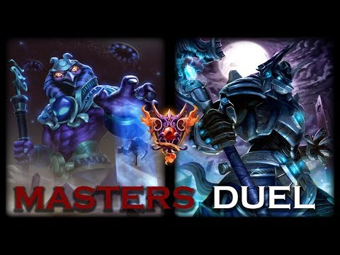 Smite: Masters Duel | Ra vs Anubis | Battle Of The Blue