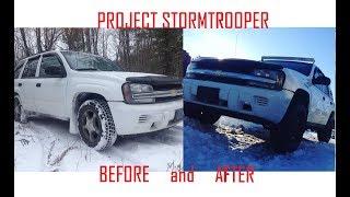 TrailBlazer Trailing Arms Driveway Install + LS FireBird Hibernation