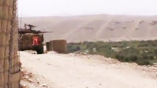 Australian LAVs Attack Taliban Positions With 25mm Cannon (Rare Footage)