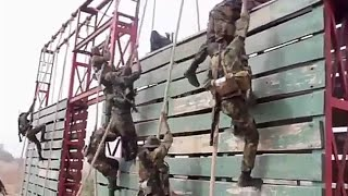 Nigerian Defence Academy Obstacles Crossing Competition 2019