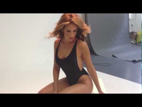 Photoshoot Bts: Sexy One-piece Swim video