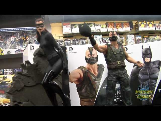 Batman Bane and Catwoman Dark Knight Rises 1:12 Scale Statue Unboxing