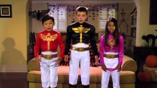 Power Rangers Megaforce: MEGA Halloween Safety!