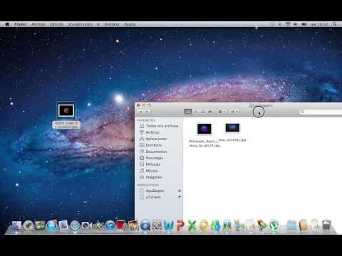 Poner cualquier imagen de fondo de pantalla para mac
