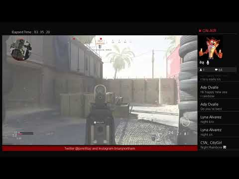 RNG playertaz playing Call of Duty Modern Warfare Road to 200 subs