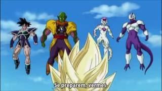 Dragon Ball Z- Goku,Vegeta,Gohan,Piccolo e Trunks Vs. Turles,Freeza, e Cooler