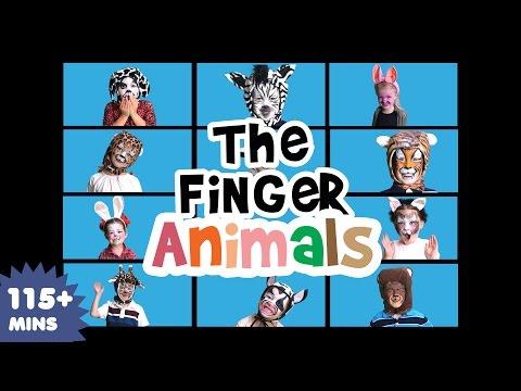 Finger Animals Song (part 2)   Nursery Rhymes   Kids Songs   Baby Songs