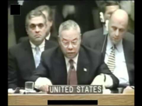 General Colin Powell UN Speech on Iraq Part 5of5