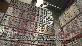 Resynthesizer: Modular synthesizer installation at MIT's Plasma Science and Fusion Center
