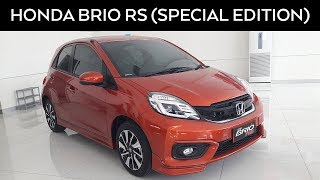 Honda Brio RS Special Edition 2017 - Exterior and Interior