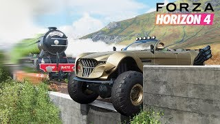 FORZA HORIZON 4 STUNTS, FAILS & FUNNY MOMENTS #2