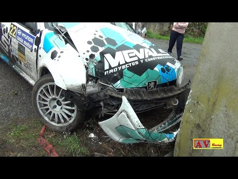 Rally Parque Histórico del Navia 2016 | Crash, Show & Action | A.V.Racing