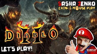 Diablo II Gameplay (Chin & Mouse Only)