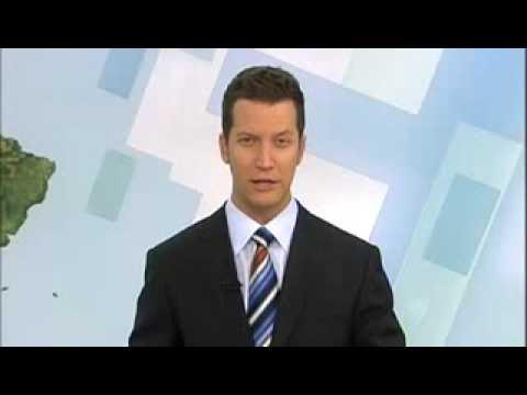 Ben Fajzullin reading World News Australia, SBS: June 2008
