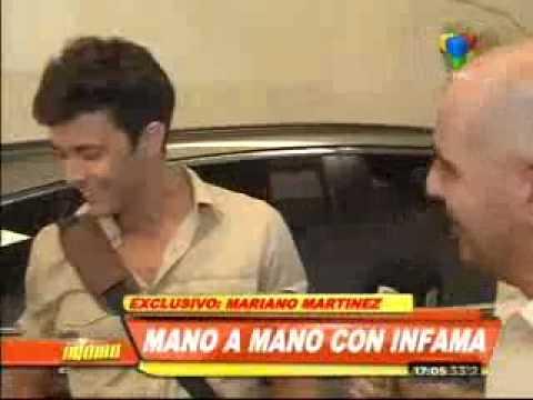 """Mariano Martínez: """"Yo miré Las mil y una Noches y me gustó"""""""