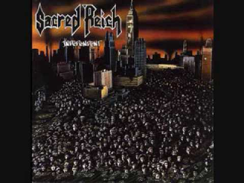 Sacred Reich - Blue Suit, Brown Shirt