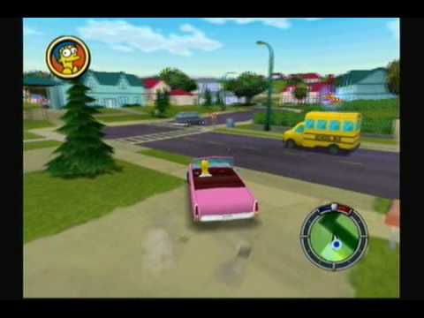 Lets Play The Simpsons: Hit and Run - #1. The Simpsons Go GTA...