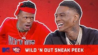 Soulja Boy, Lil Duval, & Jacquees Wild the F*ck OUT 🙌 | Wild 'N Out | All New Episodes + Fridays