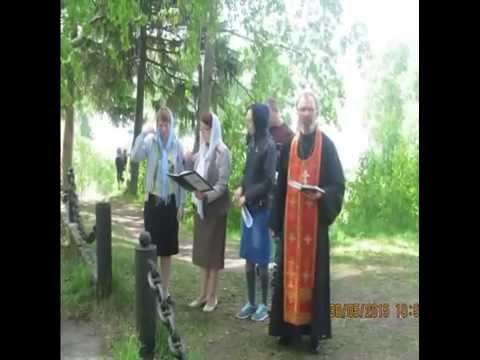 Празднование 75 - летия 574 МРАП в ч 26840 п . Катунино  Архангельская обл  30 05 2015