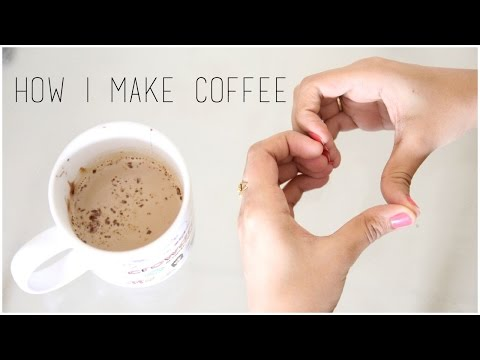 How I Make Coffee | Debasree Banerjee
