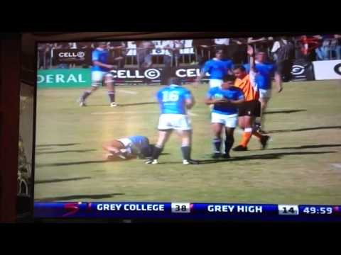 Worst rugby injury EVER on live TV! (Warning: Graphic)