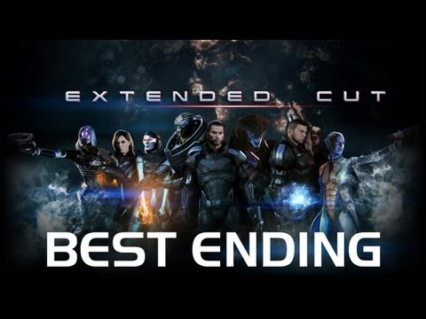 Mass Effect 3 - Extended Cut DLC (All Cutscenes. Best Ending)