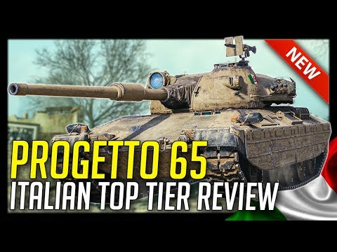 ► Progetto M40 Mod 65, New Italian Tier 10! - World of Tanks Progetto 65 - 1.0.1 Update