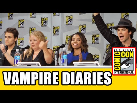 The Vampire Diaries Sdcc Official Comic Con Panel 2014 video
