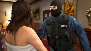 GTA 5 Mission - Police Michael and his Wife