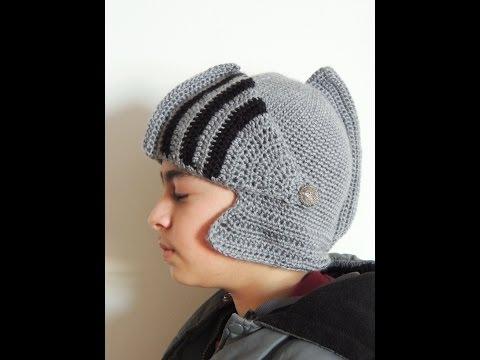 Crochet : Gorro Medieval. Penacho