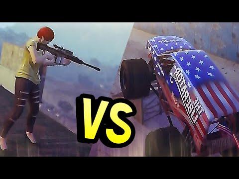 GTA Online (PC) - Люди против Машин #239