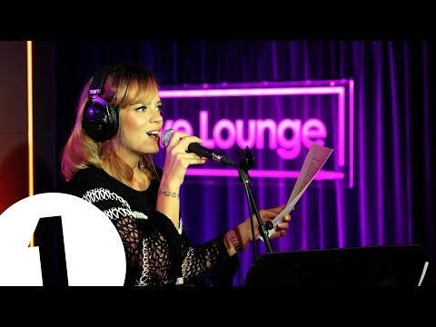 Lily Allen covers Raleigh Ritchie's Stronger Than Ever in the Live Lounge