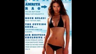 Amrita Rao Hot Bikini Moments