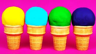 Play-Doh Ice Cream Cone Surprise Eggs My Little Pony Peppa Pig Toy Story Lalaloopsy Dolls FluffyJet