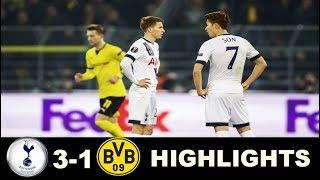 Tottenham vs Dortmund 3 1   All Goals & Extended Highlights -Champions League 13/09/2017