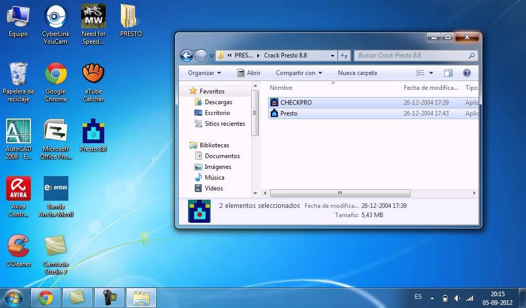 Воспроизвести. Como instalar y activar Presto 8.8 (programa + crack). JNS