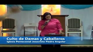 Culto de Damas y Caballeros predica Evang Favio Rodriguez