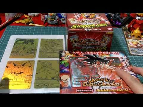 New Cards and DBZ Miracle Battle Carddass Starter