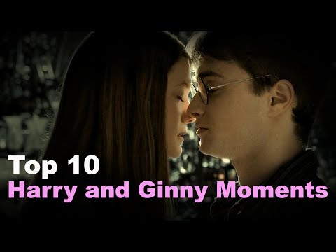 Top 10 - Harry and Ginny Moments