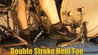 Heel Toe Double Stroke