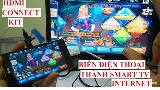 SM-15 Biến điện thoại ANDROID thành Smart TIVI với màn LCD