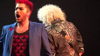 "Queen + Adam Lambert - ""Somebody to Love"" Auburn Hills Detroit 7-20-17 The Palace (2) in HD"