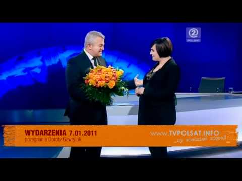 Pożegnanie Doroty Gawryluk - Polsat, Wydarzenia