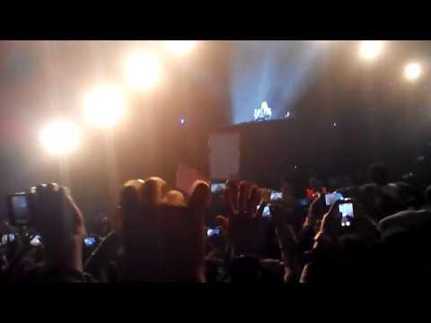 David Guetta concert at Budh International Circuit