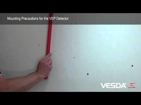 VESDA-E VEP: Mounting Precautions
