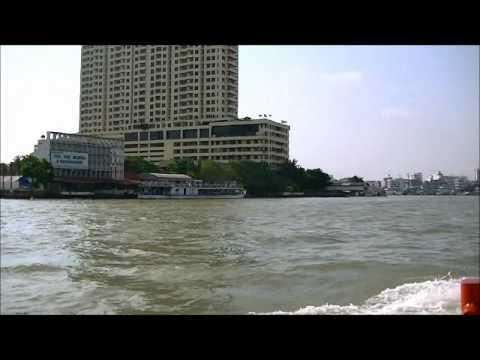 chao phraya express boat in bangkok thailand