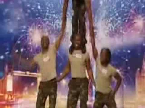 Simba Wa Africa Britain s Got Talent May 2nd, 2009 - Awesome // [HQ-2] //