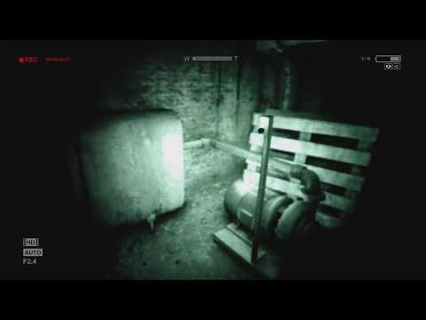 TERRIFIED By Outlast - (Part 2) GameSocietyPimps