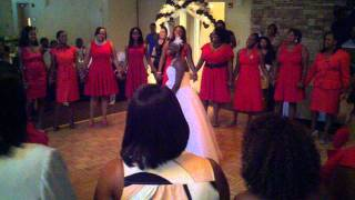 The Delta Sweetheart Song sung at my sisters wedding reception