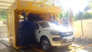 Máy rửa xe ô tô tự động - giao diện Tiếng Việt tại Mộc Châu - Sơn La [QBB-AUTOTECH]